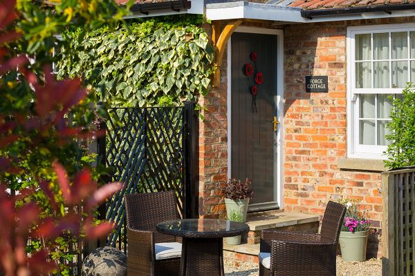 Forge Cottage, Coxwold. Private entrance and off-street parking