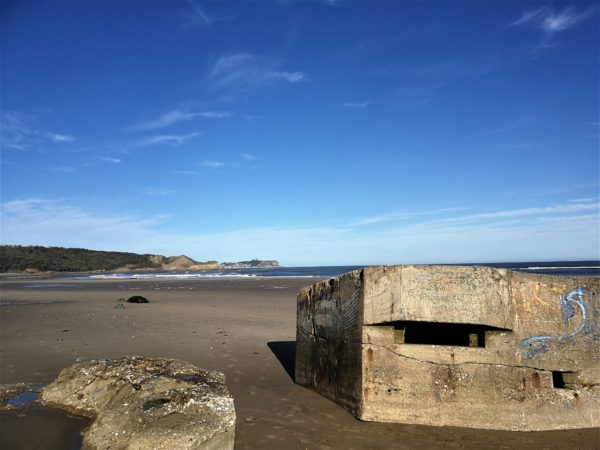 Pill box at Cayton Bay near Scarborough - Coxwold by the Sea?