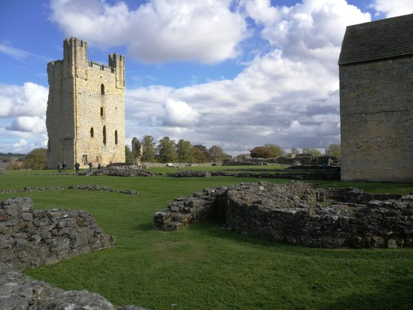 Helmsley Castle near Coxwold is well worth a visit.