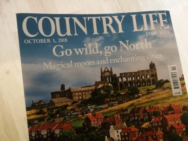 Country Life features North Yorkshire where Coxwold Cottages is located