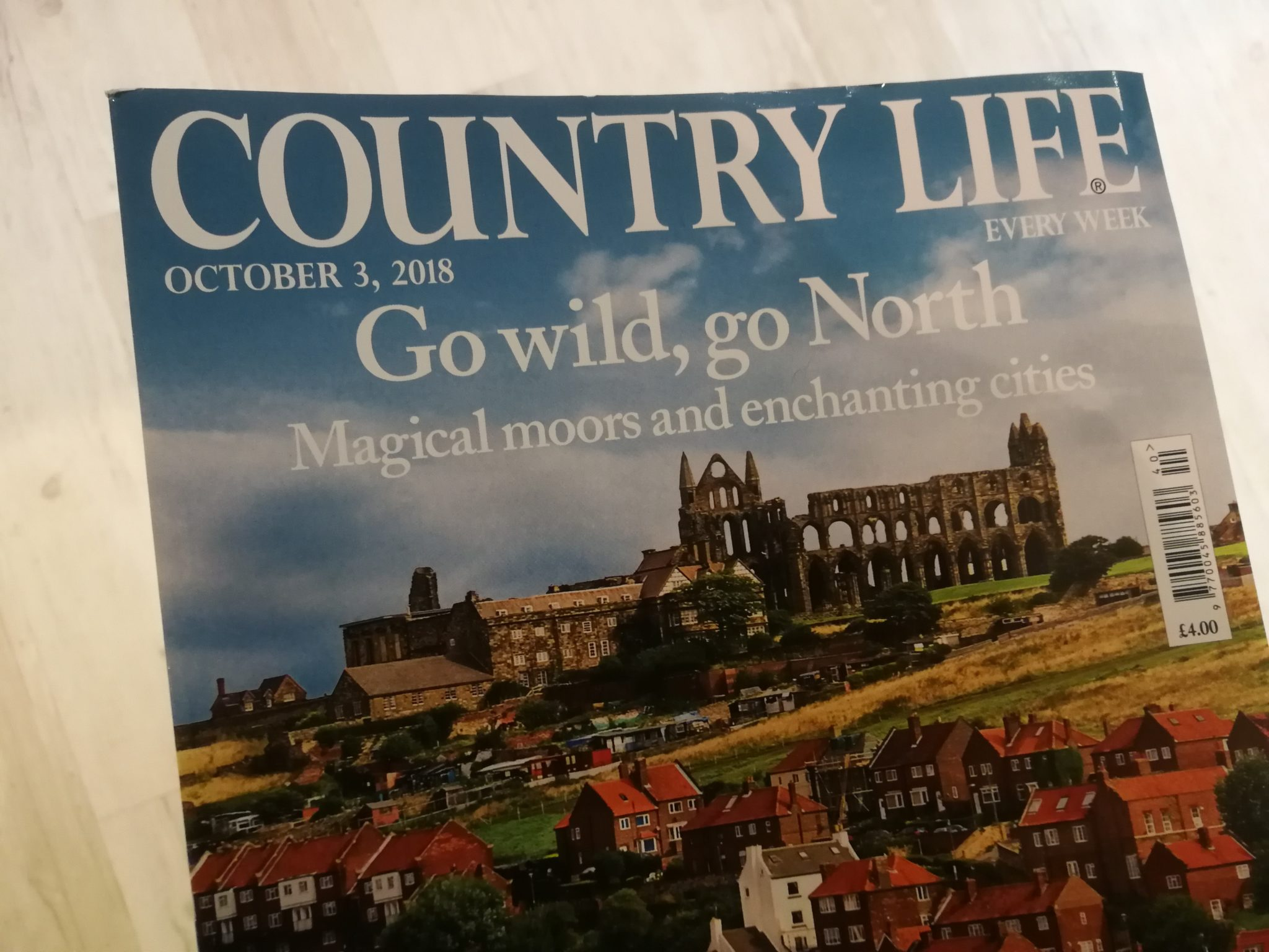 Country Life features North Yorkshire!