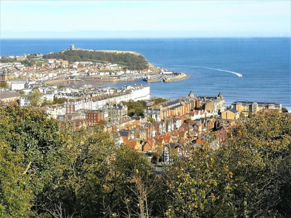 Scarborough Castle from Oliver's Mount