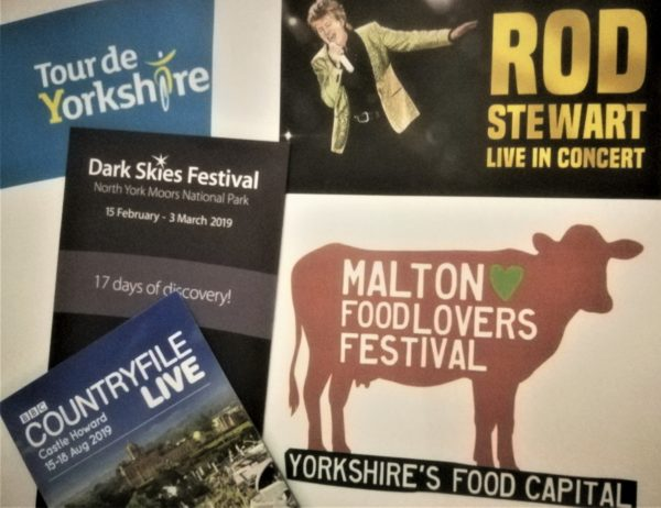 What's on near Coxwold in the North York Moors 2019