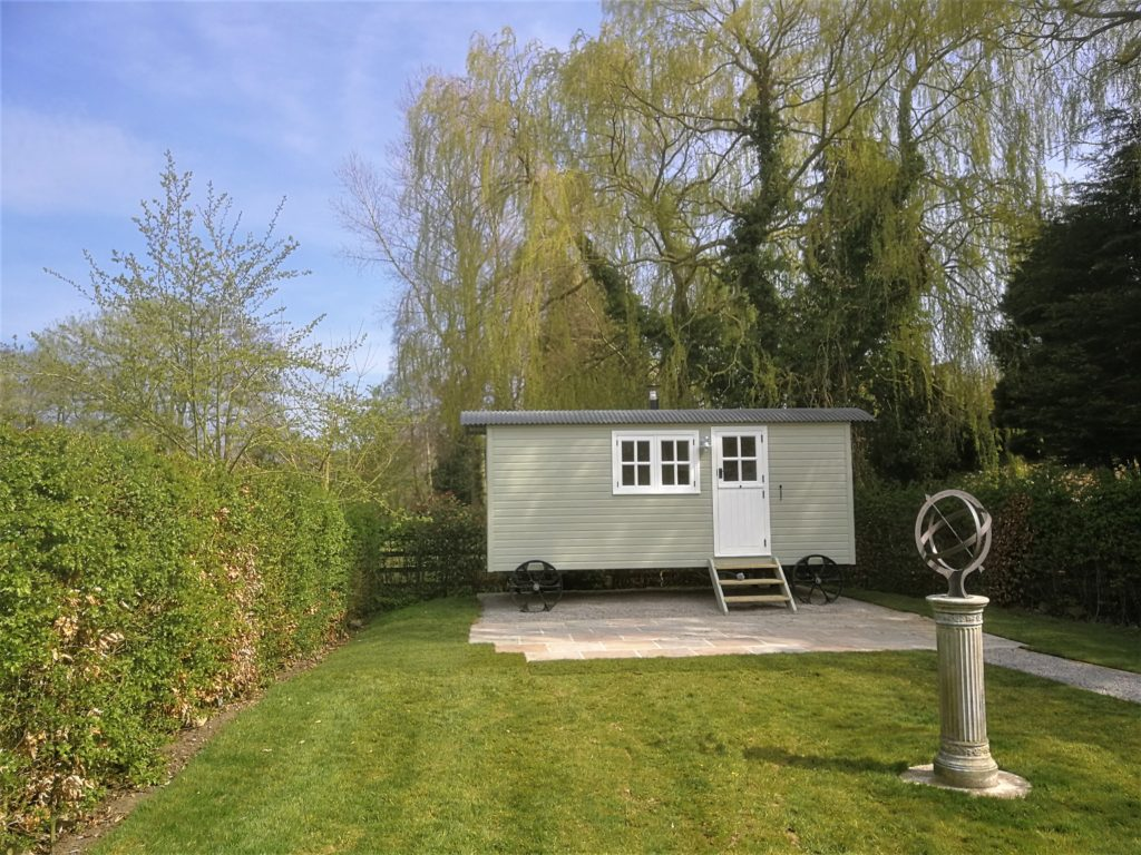 New Shepherd's Hut at Coxwold Cottages