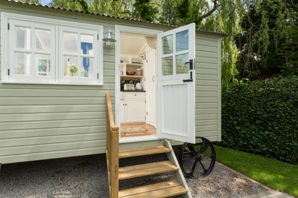 Step into luxury with our Shepherd's Hut in Coxwold