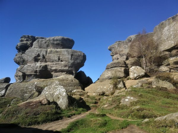 Brimham Rocks - great place to visit from Coxwold Cottages