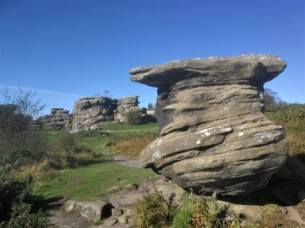 Brimham Rocks is only 45 minutes from Coxwold