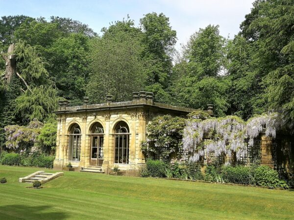 The orangery or conservatory at Duncombe