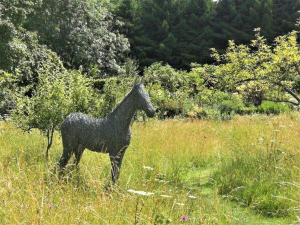 Nunnington's wire horse