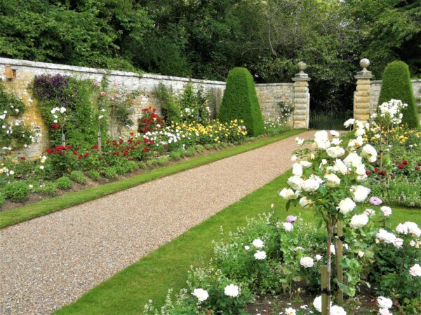 Nunnington rose walk